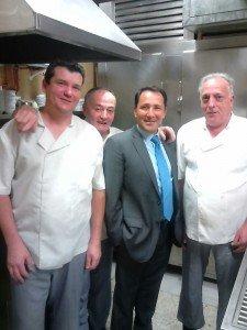 Cesar Rincon cocina